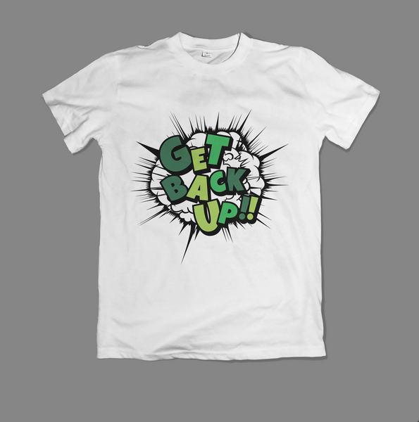 YOSHI-HASHI 'GET BACK UP' T-Shirt