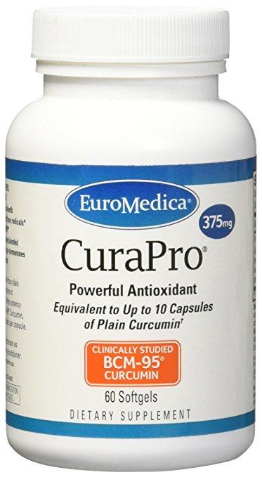 CuraPro 375 mg - 60 Softgels