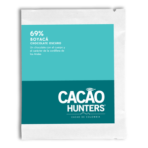 Cacao Hunters Colombian Chocolate - Boyaca Dark 69%
