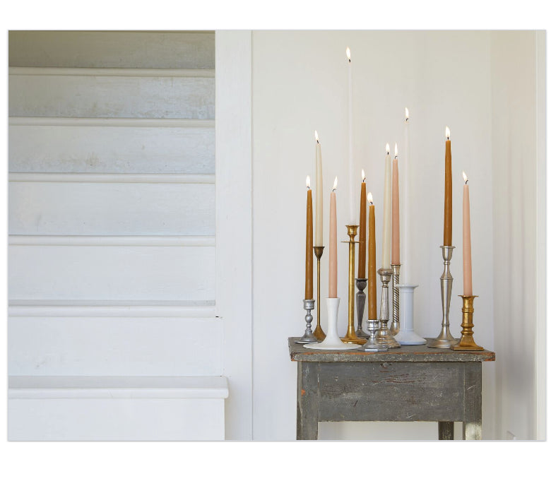 "12"" Taper Candles - Parchment"