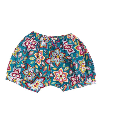 Sweet as Sugar Couture Teal Magnolia Bubble Shorts - 6Y - Bottom