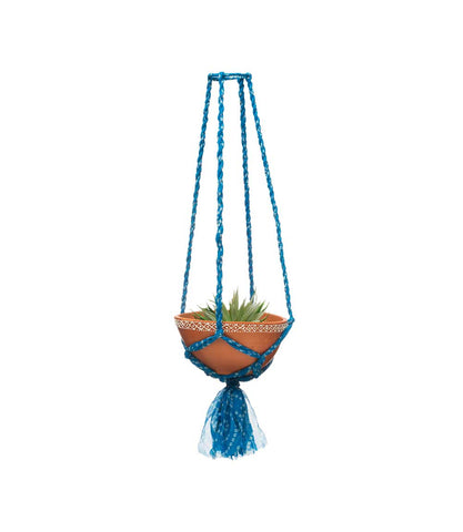 Sari Macrame Plant Hanger - Small Assorted