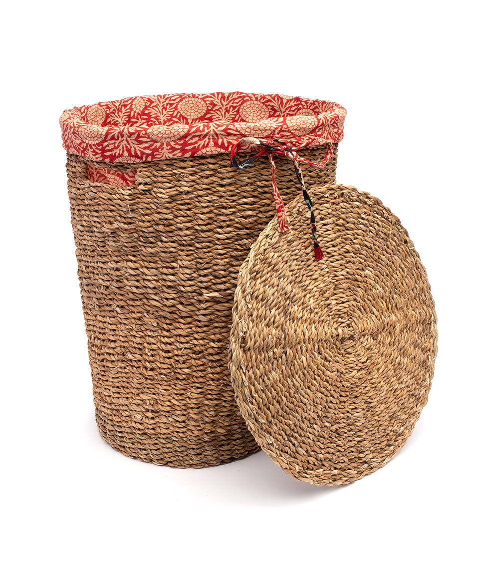 Sari Liner Round Hamper - Assorted
