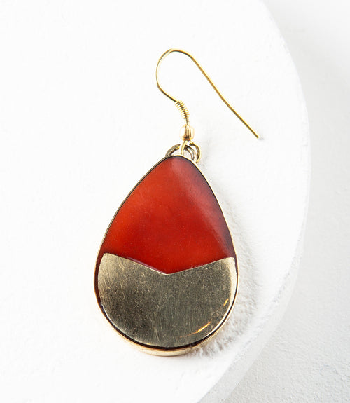 Tara Stone Teardrop Earrings