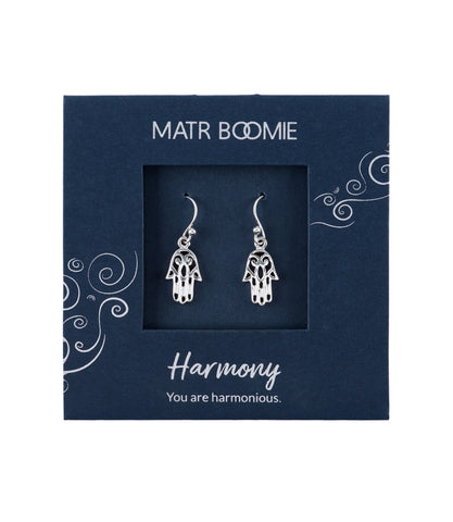 Shanasa Sterling Silver Charm Earrings - Beauty