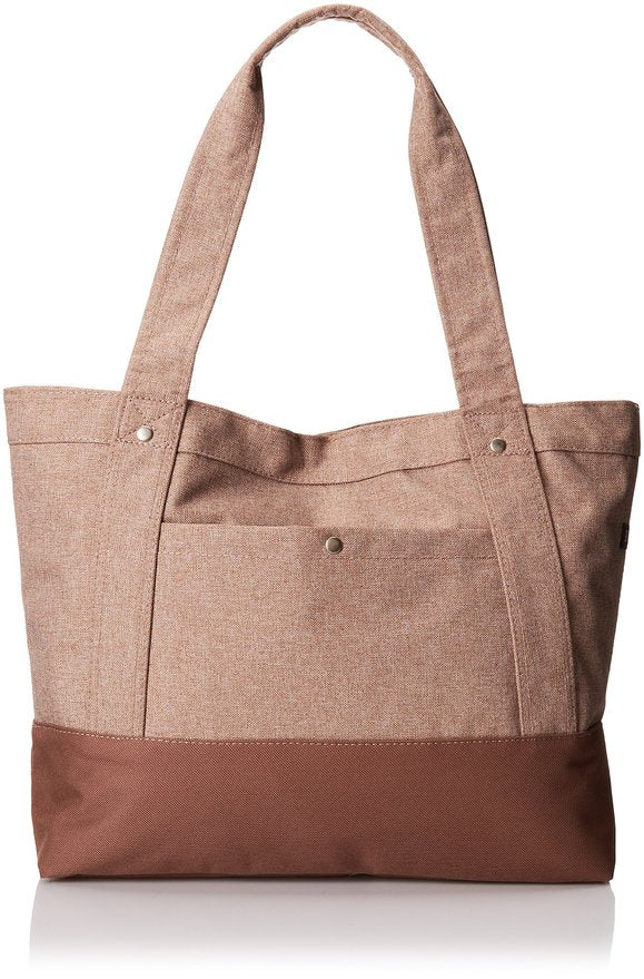 Everest Stylish Tablet Tote Bag - Tan
