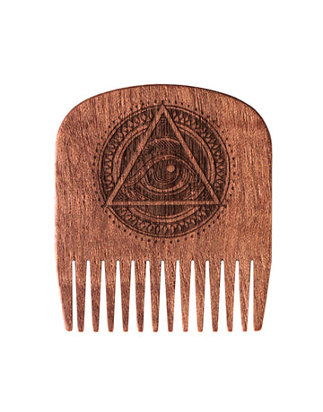 Big Red Beard Comb No.5 All-Seeing Eye