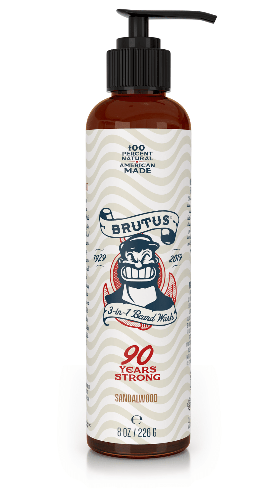 Popeye Shave Company - BRUTUS 3 in 1 Beard Wash