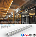 2ft led light fixture: 2ft 7w 3000k Warm White 700 Lm