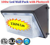 Wall Light Dusk to Dawn: 2 Pack 100w Photocell 5000k Daylight