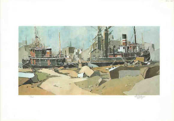 The Port - (Lithograph Numbered & Signed) 26/500