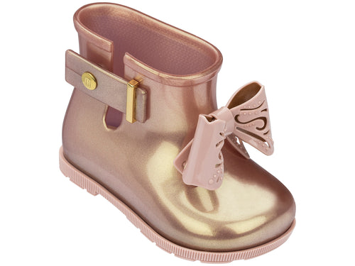 Rose Gold Sugar Rain Fairy Boot