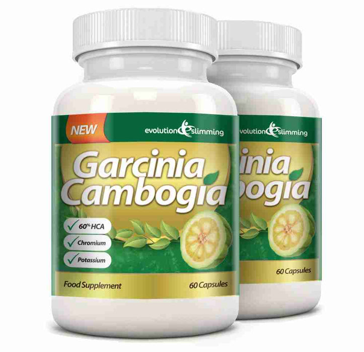 Garcinia Cambogia with Calcium & Potassium 2 Bottles