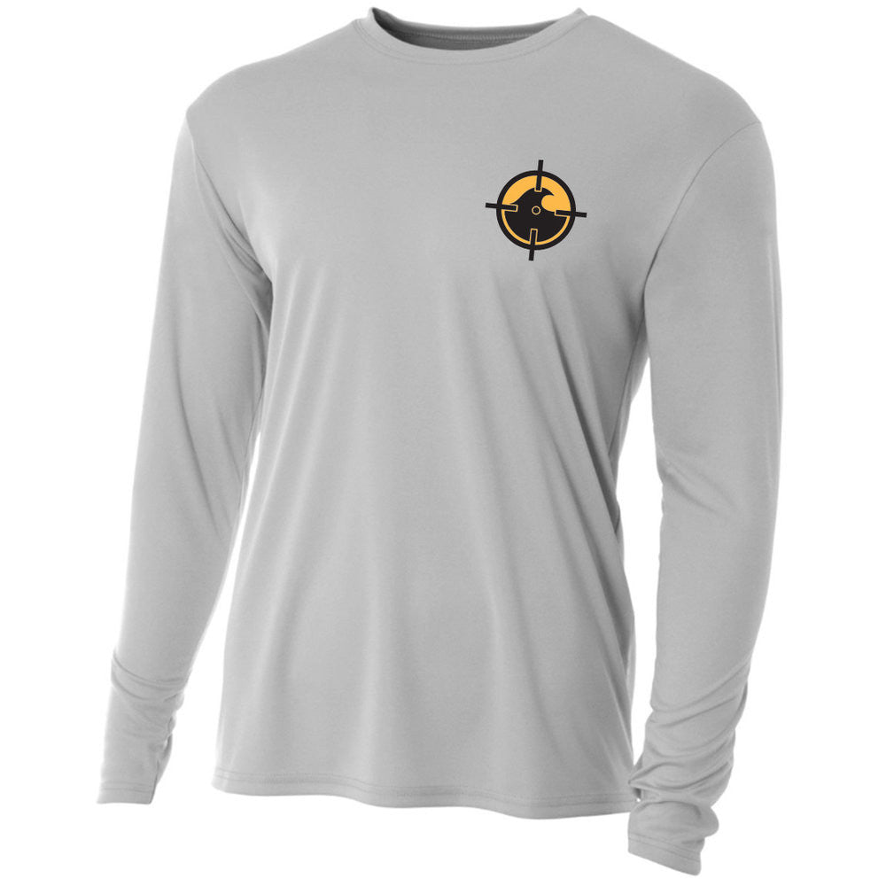 Hogfish Performance LS - Lt. Grey