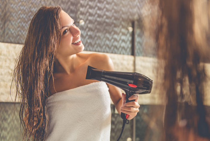 Training Your Hair To Require Less Washing