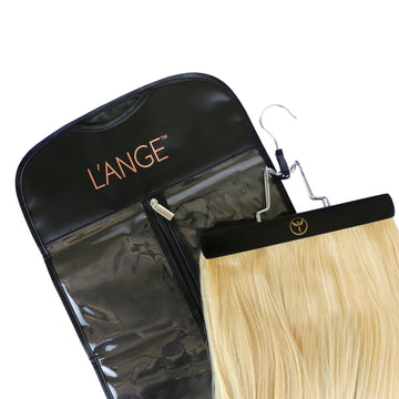 Hair Extension travel bag with hanger