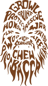 Chewbacca | Star Wars SVG DXF EPS PNG Cut File | Cricut and Silhouette Machines