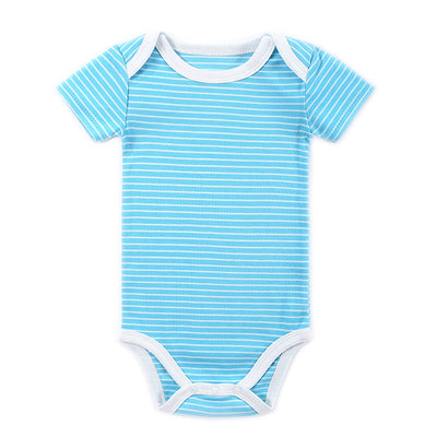 Baby Rompers Infant Girl Newborn Baby Clothes Cute Cartoon Short Sleeves Rompers Suits Coverall Baby Clothing