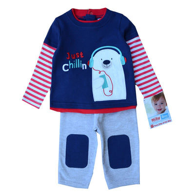 Winter Children Clothing Sets 2pcs Set T-shirt+Pants Next Suit Cotton Long Sleeve Newborn Girls Clothes Toddler Costume