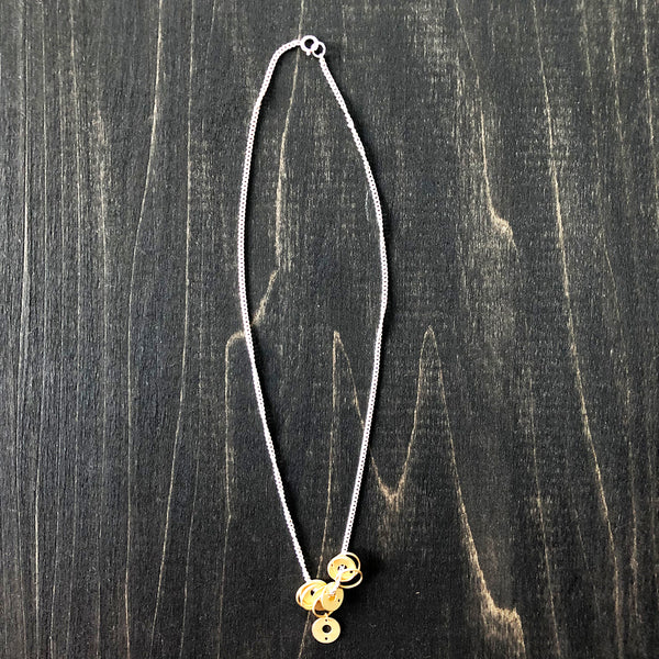 Jester Swink - Sterling Silver and Gold Vermeil Chain