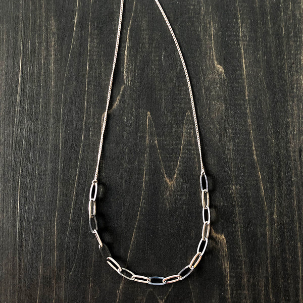 Jester Swink - Sterling Layering Chain