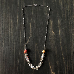 Jester Swink - Sterling and Jasper Necklace