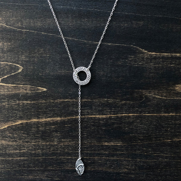 Jester Swink - Delicate Charm Lariat Necklace
