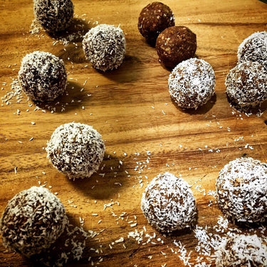 Healthy Lamington Balls