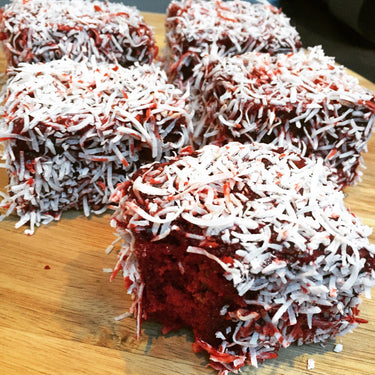 Red Velvet Lamingtons