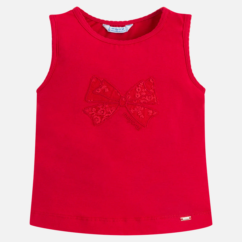 Mayoral, MAYORAL GIRLS RIBBON TANK TOP - James & Olive