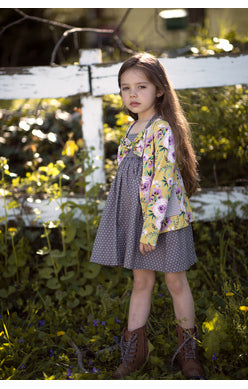 Mustard Pie, MUSTARD PIE GIRLS JUNIPER DRESS - James & Olive