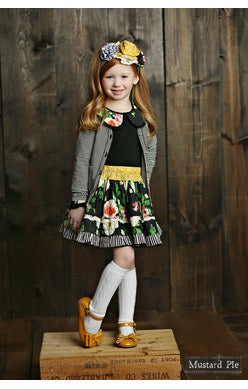 Mustard Pie, MUSTARD PIE GIRLS PENELOPE SKIRT - James & Olive