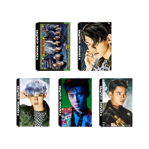 EXO The War Repackage Photo Cards