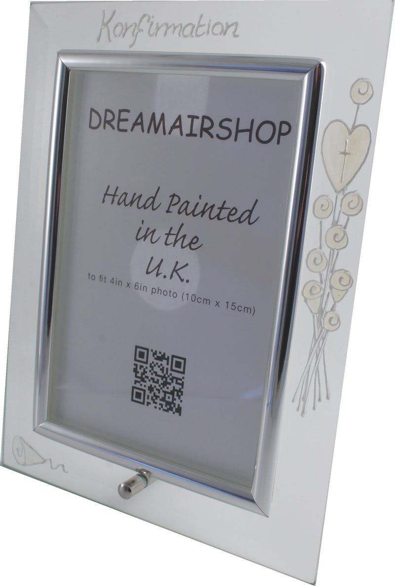 Konfirmation Fotorahmen Hochformat - :Confirmation Photo Frame (Pearl)