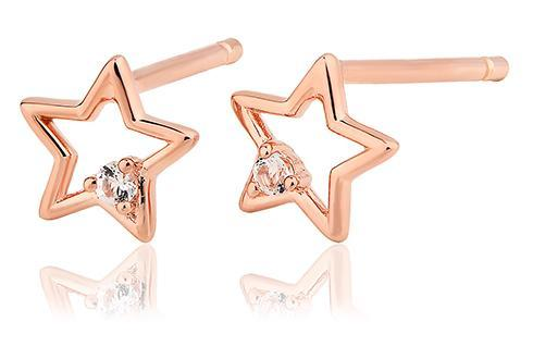 Faith Star Stud Earrings