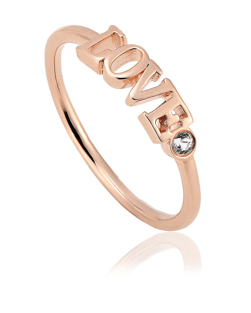 Vibes Rose Love Ring