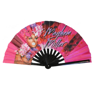 Mayhem Miller Fan folding drag fan