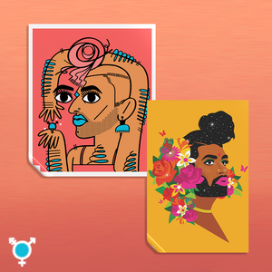 "┃FLAWED┃ ""Alok Stickers"" Set of 2 (Alok)"