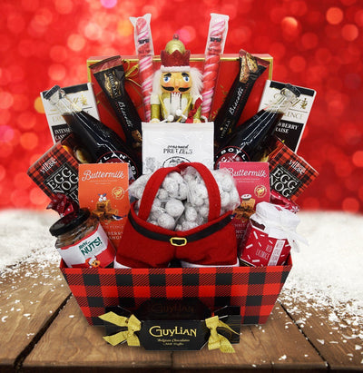The Festive Nutcracker Christmas Gift Basket