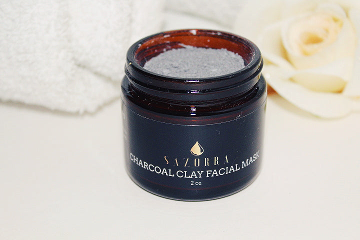 Charcoal Clay Facial Mask