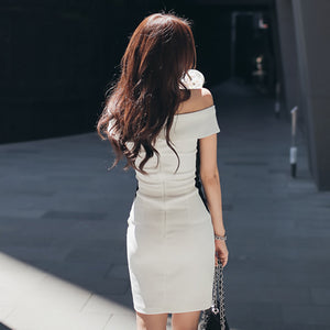 Paxtone Off-Shoulder Bodycon Dress