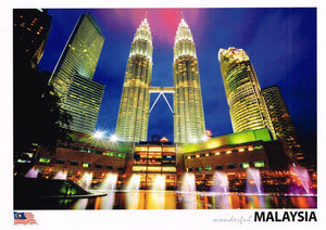 LC 10 - Night view of Suria KLCC