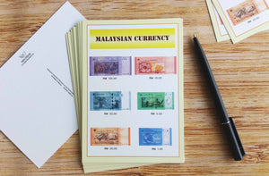 10 pieces - Malaysian Currency