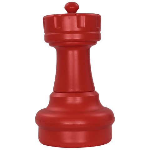 MegaChess 17 Inch Red Plastic Rook Giant Chess Piece |  | MegaChess.com