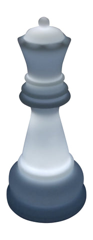 MegaChess 22 Inch Premium Plastic Queen Light-Up Giant Chess Piece - White |  | MegaChess.com