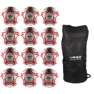 Uber Soccer Pro Trainer Ball 12 Pack Bundle - UberSoccer