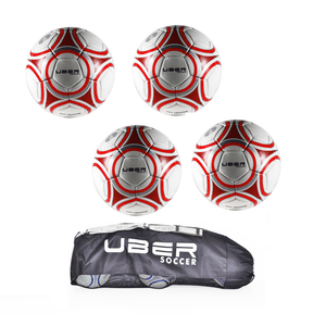 Uber Soccer Pro Training Ball 4 Pack Bundle - UberSoccer