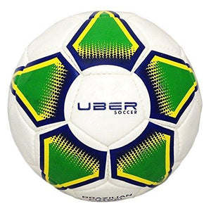 Uber Soccer Futsal Ball - Glossy Finish - Brazilian Colors - UberSoccer