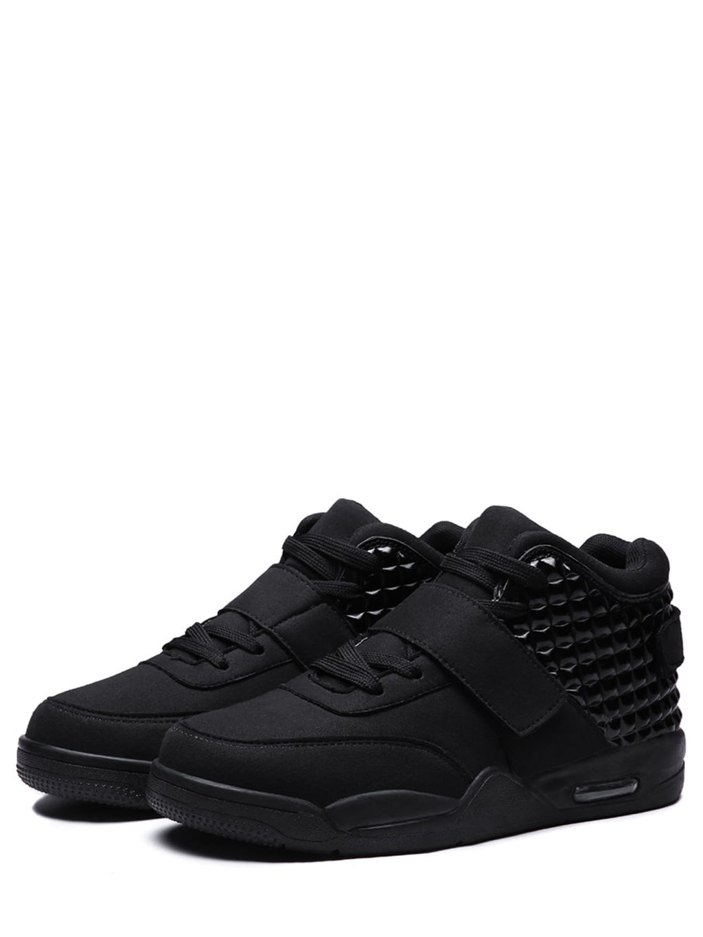 Men Suede Lace Up Trainers