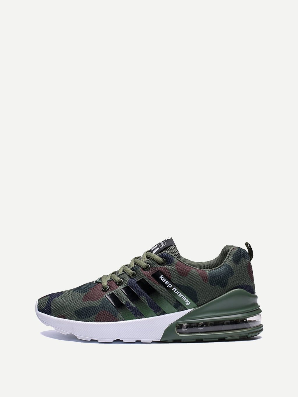 Men Lace-up Camouflage Sneakers